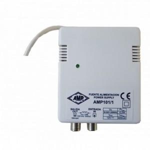 AMP01/1 Fuente de alimentación SAT 12V 400mA 22KHz Diseqc