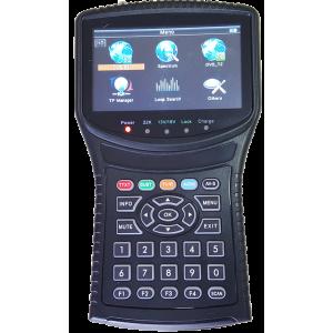 AMP506 Medidor de campo combo HD TV-Terrestre+SAT y analizador de espectro