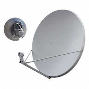 AMP86 Antena parabólica Offset de 1,50m