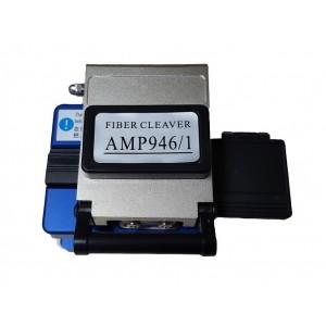 AMP946/1 Cortadora semiautomática para cables de fibra óptica de alta precisión con depósito de residuos