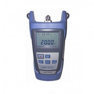 AMP952 Fuente de luz óptica 1310-1490-1550 nm con adaptador LC