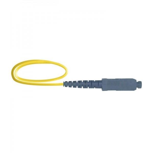 AMP817 Pigtail SC/APC SM/9/125 1,5 metros LSZH-FR 0,9mm amarillo