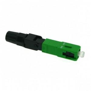 AMP902/1 Conector rápido de fibra SC/APC SM (sin fusionadora)