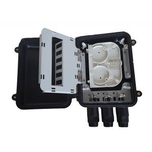 AMP935/1 Caja exterior IP68 3p Entrada/Salida, capacidad 12 fusiones + 18 adaptadores (no incl.) negro medidas 285x200x90mm