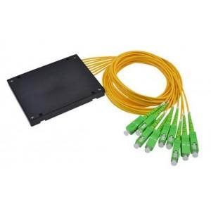AMP920 Fibre optic splitter 1x8 SM, SC/APC with ABS box