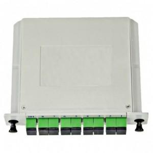 AMP920/2 Fibre optic splitter 1x8 SM, SC/APC LGX plc splitter
