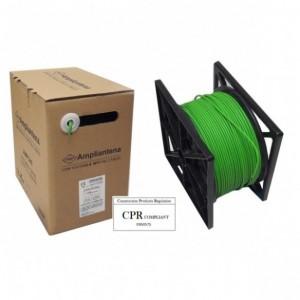 AMP540 Cable UTP Cat5E LSZH Verde, 305m, CPR Euroclass Eca