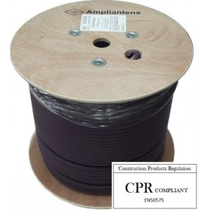 AMP568 Cable FTP Cat6 LSZH Violeta, 305m, CPR Euroclass Eca
