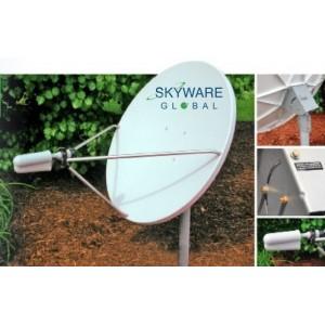 AMP90 Antena parabólica Offset de 1m. Alta ganancia SKYWARE