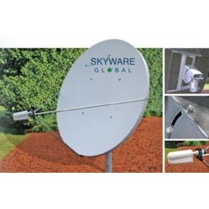 AMP94 Skyware 1.8m Receive-Only Antenna System