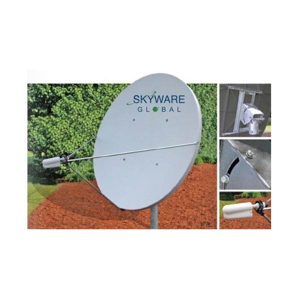 AMP94 Antena parabólica Offset de 1,80m. Alta ganancia