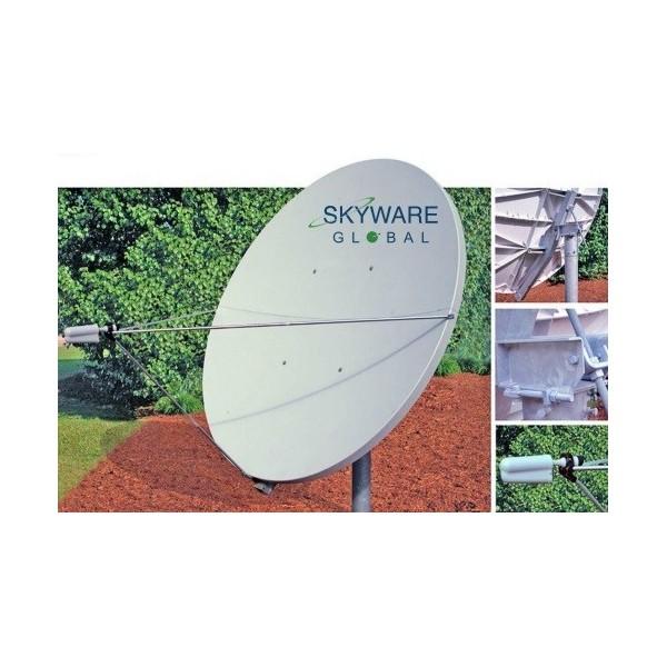 AMP95 Antena parabólica Offset de 2,40m. Alta ganancia