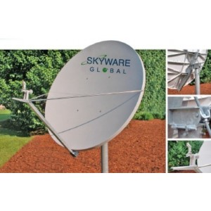 AMP143 Antena Skyware 2,4m Rx/Tx Ku-Band CROSS-POL