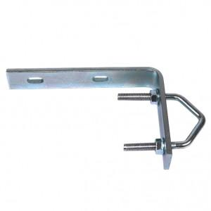 Garra de escuadra L para tacos de pletina 100x150mm métrica 6