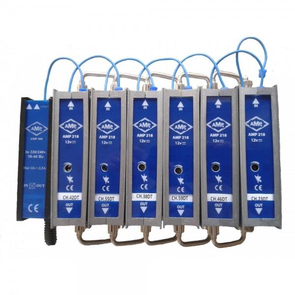 AMP354 Filtro de canal activo BIII CH/5-12 12dB