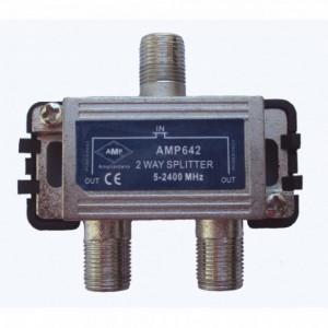 AMP642 Distribuidor Blindado 5-2500 MHz 2 salidas