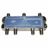 AMP646 Distribuidor Blindado 5-2500 MHz 6 salidas