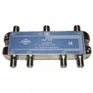 AMP646 Splitter 6 outputs