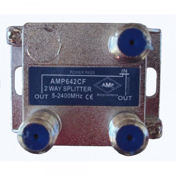 AMP642CF Distribuidor directivo 2 salidas