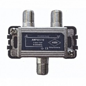 AMP651/10 1 Way Tap 10dB