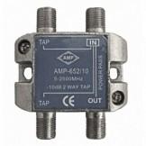 AMP652/10 Derivador directivo 2 derivaciones 10dB