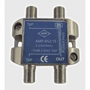 AMP652/15 Derivador directivo 2 derivaciones 15dB