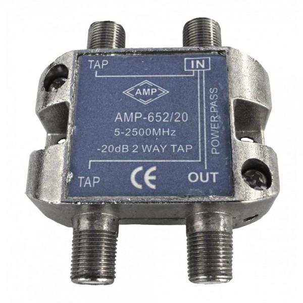 AMP652/20 Derivador directivo 2 derivaciones 20dB