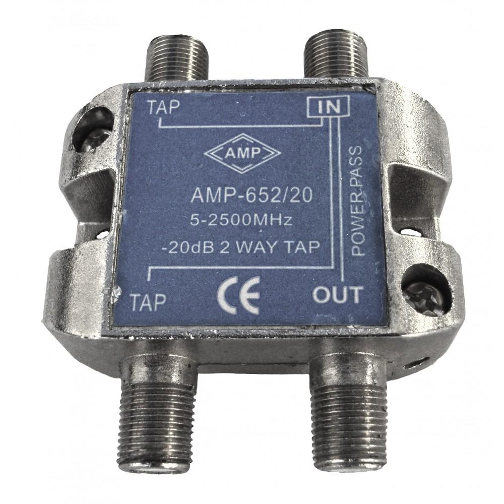 Amp652 20 derivador directivo 2 derivaciones 20db - Db direct empresas ...
