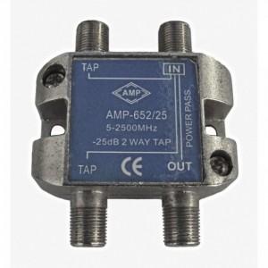 AMP652/25 Derivador directivo 2 derivaciones 25dB