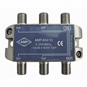 AMP654/20 Derivador directivo 4 derivaciones 20dB
