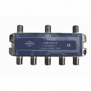 AMP656/15 6 Way Tap 15dB