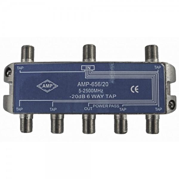 AMP656/20 Derivador directivo 6 derivaciones 20dB