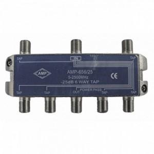 AMP656/25 Derivador directivo 6 derivaciones 25dB