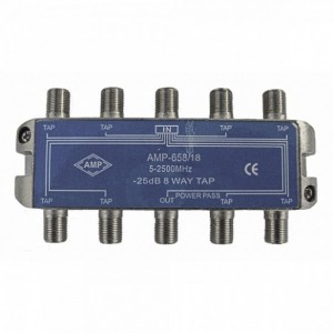 AMP658/18 8 Way Tap 18dB