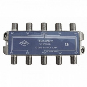 AMP658/20 Derivador directivo 8 derivaciones 20dB