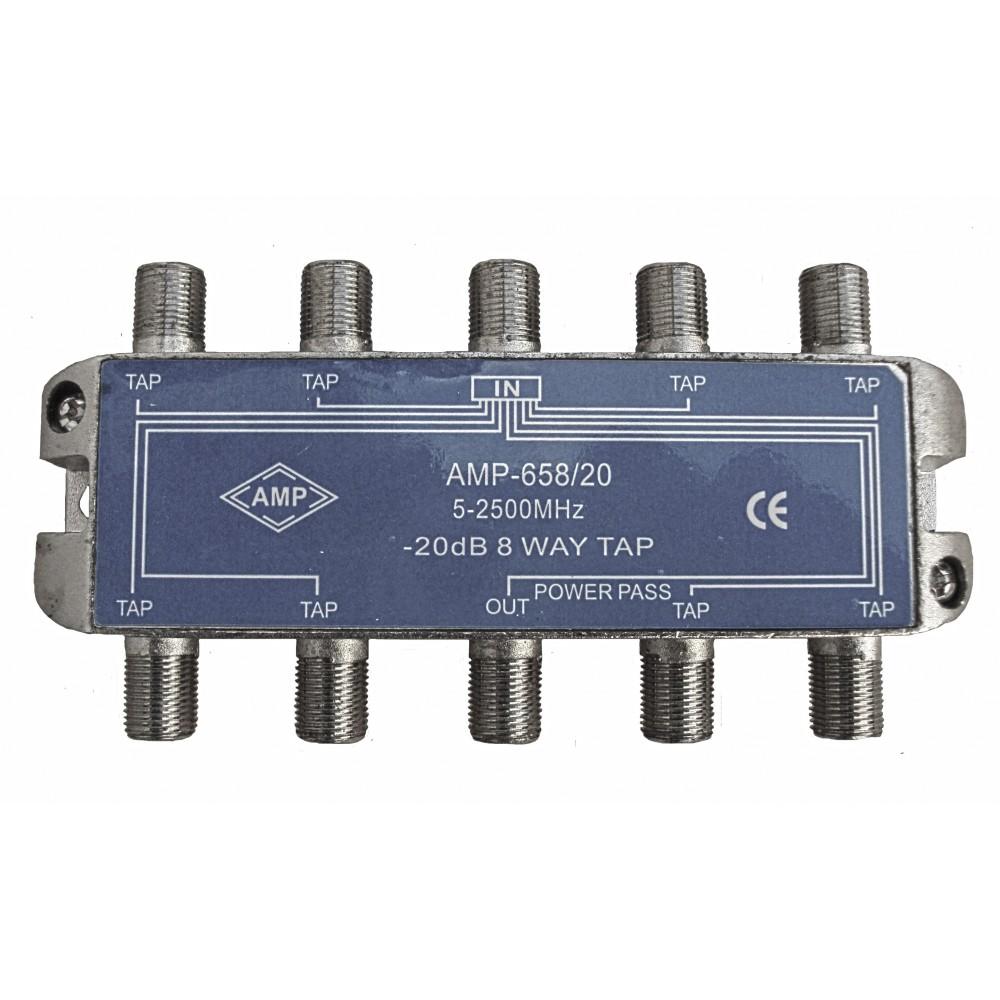 Amp658 20 derivador directivo 8 derivaciones 20db - Db direct empresas ...