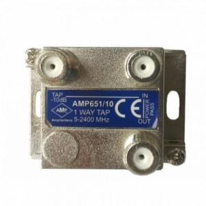 AMP651/10CF 1 Way Tap 10dB