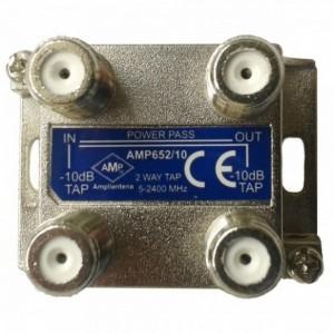 AMP652/10CF Derivador directivo 2 derivaciones 10dB