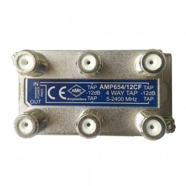 AMP654/12CF Derivador directivo 4 derivaciones 12dB