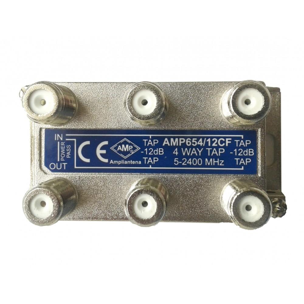 Amp654 12cf derivador directivo 4 derivaciones 12db - Db direct empresas ...