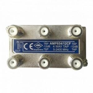 AMP654/14CF 4 Way Tap 14dB