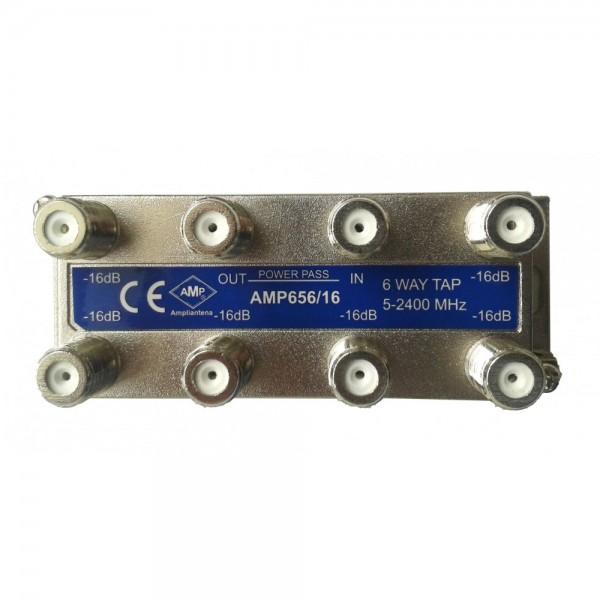 AMP656/16CF Derivador directivo 6 derivaciones 16dB