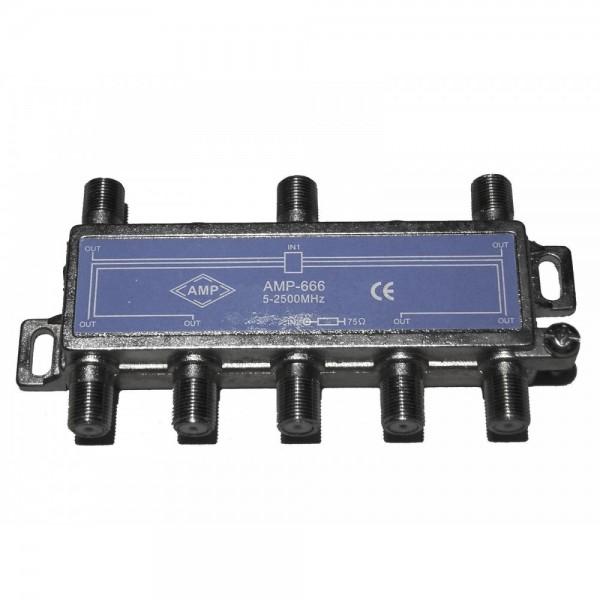 AMP666 Punto de acceso a usuario (PAU) (5-2500 MHz) 2E/6S