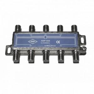 AMP668 Way 2 inputs 8 outputs
