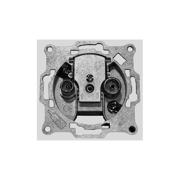 AMP662DC Base de toma final TV+RD/SAT c/c (5-2500MHz) 8dB sin carátula
