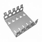 AMP008 Soporte metálico regleta de 50 pares (50X10)