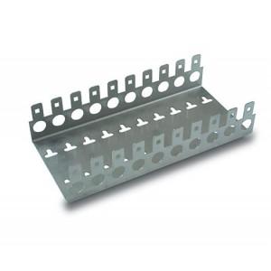 AMP010 Soporte metálico regleta de 100 pares (10X10)