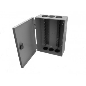 Amp026 caja de distribuci n interior 100 pares regletas for Caja de distribucion