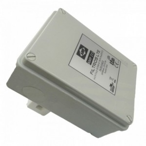 AMP211 Filtro de mástil blindado LTE carcasa ABS 30dB (791/860 MHz) 12C