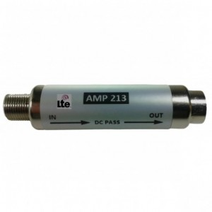 "AMP213 Filtro enchufable LTE tipo barrilete ""F"" 6dB (791/860MHz)"